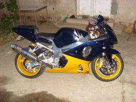 airbrushed gsxr by Flameks