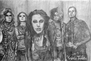 Motionless In White by Qtfiddler