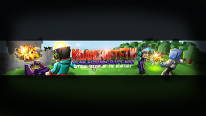 NoahcraftFTW -  Minecraft Youtube Banner by FinsGraphics