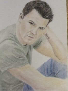 David Boreanaz by Powerfulwoodelf