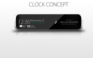 clock concept design by pedrocasoa
