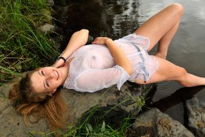 Talya - wet white smile 1 by wildplaces