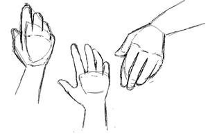 Hands draft by Ayame-Onai