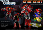 TFP Knockout for Poser - DOWNLOAD NOW by RazzieMbessai