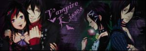 Vampire Kisses Banner 2 by JessicaOnyx