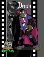 TMNT Don as Dracula film by ShinMusashi44