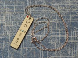 Nintendo Wii Video Games Controller Necklace by PlayBox-Designs