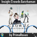 Insight Crowds Gatchaman Icon by PrimaRoxas
