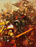 .:WAAAAGH:. by blackswordsman28