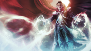 Dr. Stephen Strange by XteveAbanto