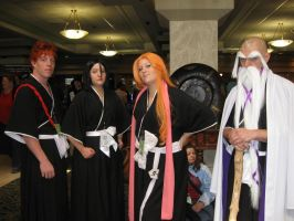Bleach Cosplayers by Leap207