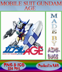 Gundam Mobile Suit Age - Anime icon by azmi-bugs