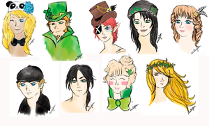freebies. st. patrick. by scullylam