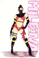 Mileena: The Assassin by This-Dandy-Boy
