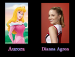 Aurora - Dianna Agron by FalseDisposition