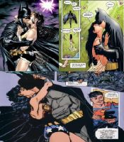 batman wonderwoman comic book kisses by MAHGOL-DC-LOVER