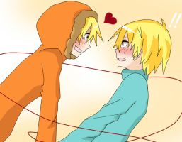 Bunny!! Kenny x Butters by xAlicePH