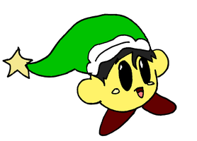 Gift: Sword the yellow Kirby by Aso-Designer
