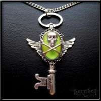 Soothsayer Keyholder Necklace by Horribell-Originals