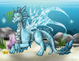 Guardian of Water - Lympha by SweetLhuna