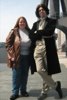 8th Doctor and Donna Noble by teamTARDIS