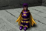 Batgirl Defeated by Chaosjohn