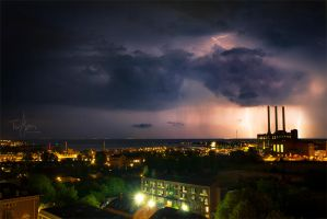 Copenhagen Lightning by chilouX
