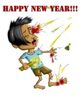 happy new year by cmico2