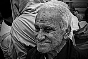 Old man by mkrtchyan