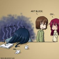 Art Block by larein