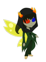 HS Beta God Tier: Sollux [Cel] by SanchaySquirrel