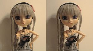 Pullip 3D - Cross-eyed view by anikkavlc