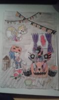 Happy Halloween 2014 by Megabitron