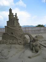 Sand Sculpture 4 by meguida