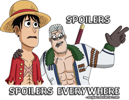 One Piece - Spoilers, spoilers everywhere by SergiART