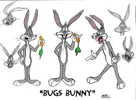 Bugs Bunny 'Model Sheet' by MatthewHunter