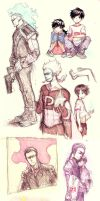 DP artdump by demitasse-lover