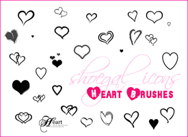100x100 Hearts Brushes by kissncontrol