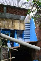 Stairs to Heaven in Rocinha's favela by Swadharma