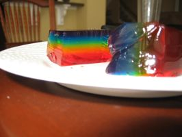 Rainbow Jello 1 by LimeInDaCoconut