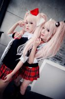Danganronpa - Despair sisters 03 by Sakina666
