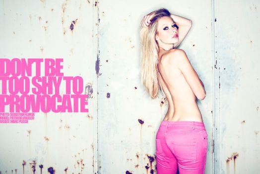 Don't be too shy to provocate by photogenic-art