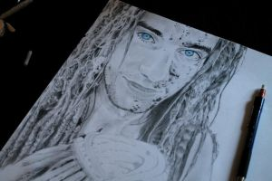 Dreadlock Guy WIP #5 by JacJavJac