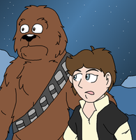 'We're in Deep Trouble Now, Chewie' by Critterz11