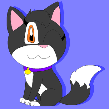 Zoey the cat by LisaDots123