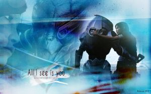 Shep/Gar: All I see is you by Belanna42