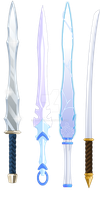 Weapon designs by Dracelix