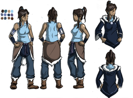 Avatar Korra Turnaround by RamuGami
