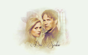 Bill and Sookie Wallpaper by Momokochan007