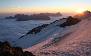 Mount Titlis Sunrise by Silver-Guild